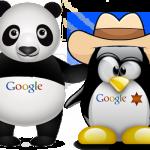 mise à jour google seo panda pinguin