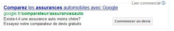 google-comparateur-auto